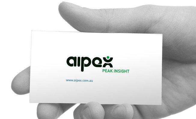 Aipex: logo design