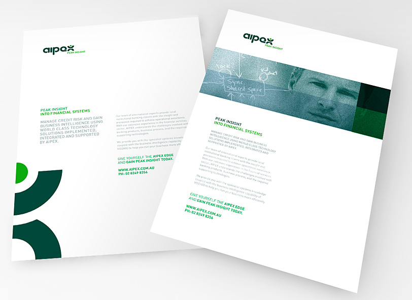 Aipex: brochure design