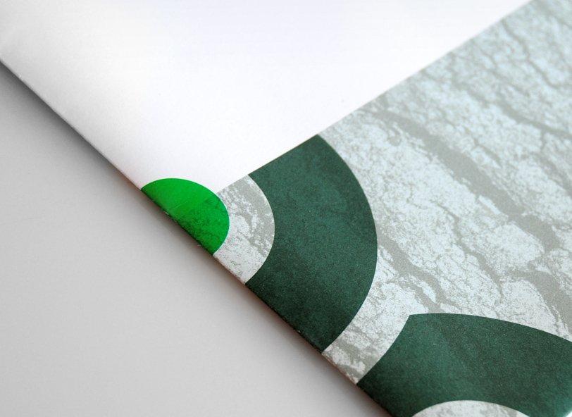 Aipex: print brochure texture detail