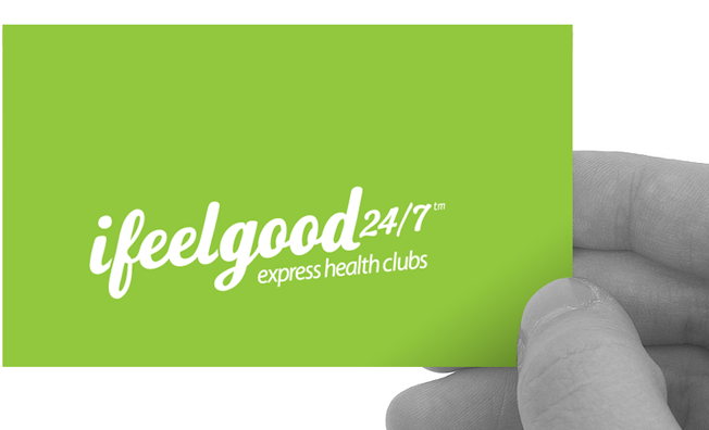 ifeelgood 24/7: logo and business card design