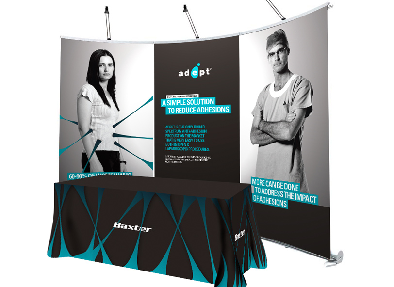 Adept trade show exhibition design