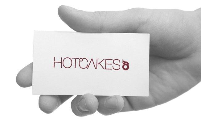 Hotcakes visual identity: masthead design