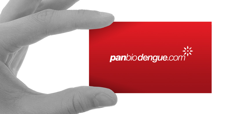 Panbio dengue visual identity: logo design