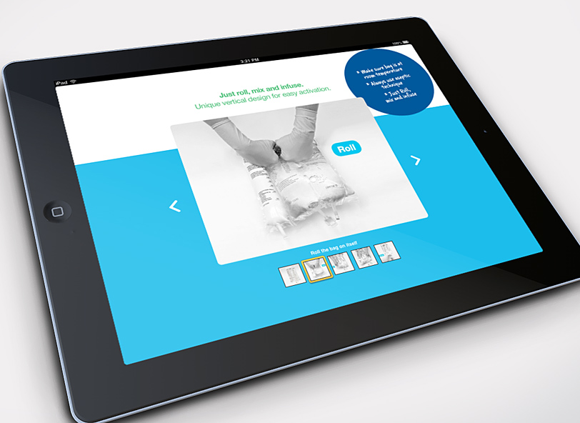 pnsource interactive iPad product instructions