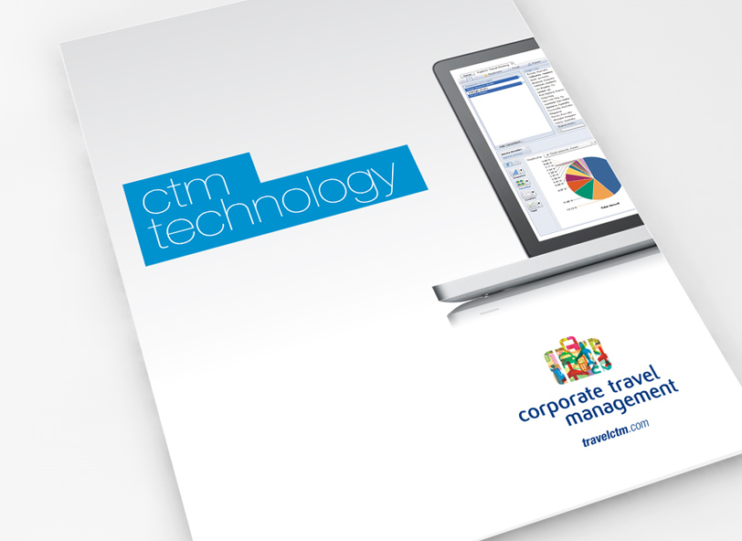 CTM visual identity: brochure design