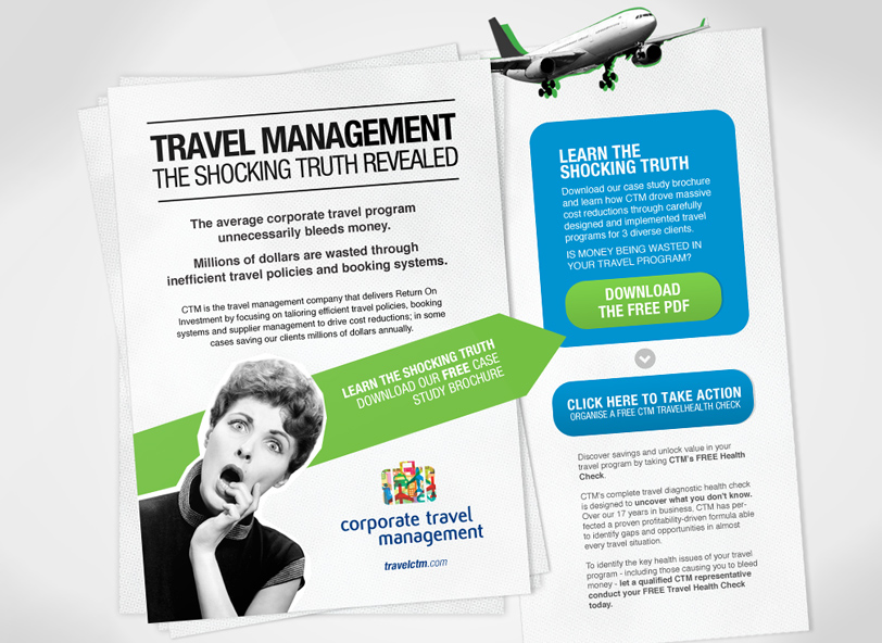 CTM online advertising campaign development