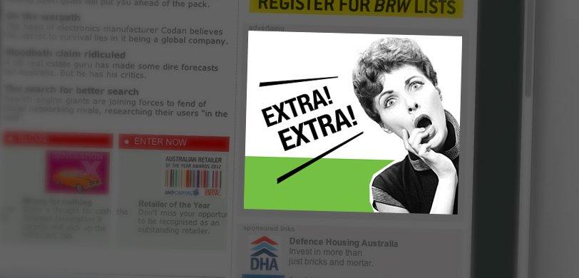 CTM online campaign: web banner advertisement