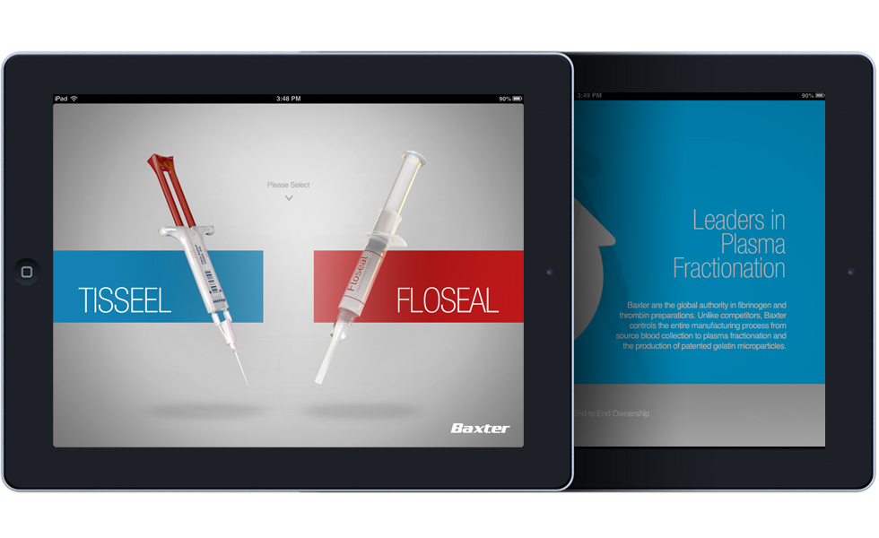 Haemostats iPad app demonstration