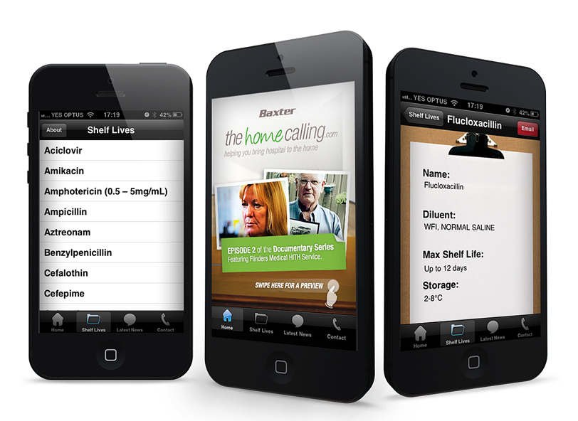 The Home Calling: iPhone app design and development